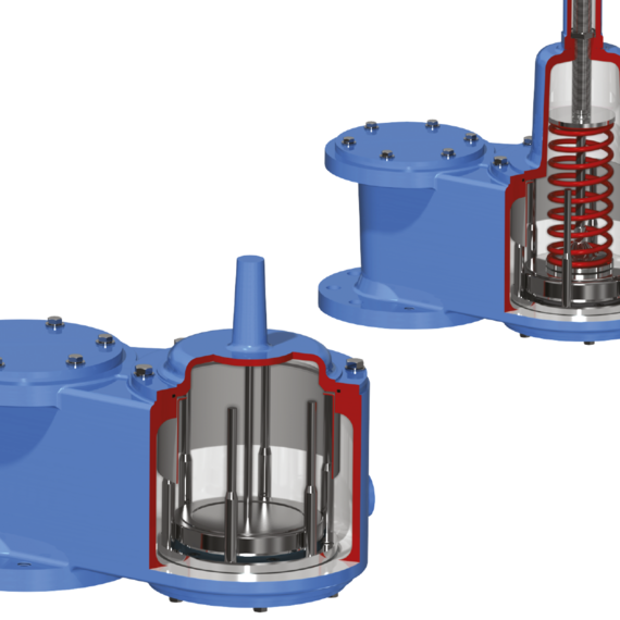 Marvac Type 4110 Bottom Entry Vacuum Valves