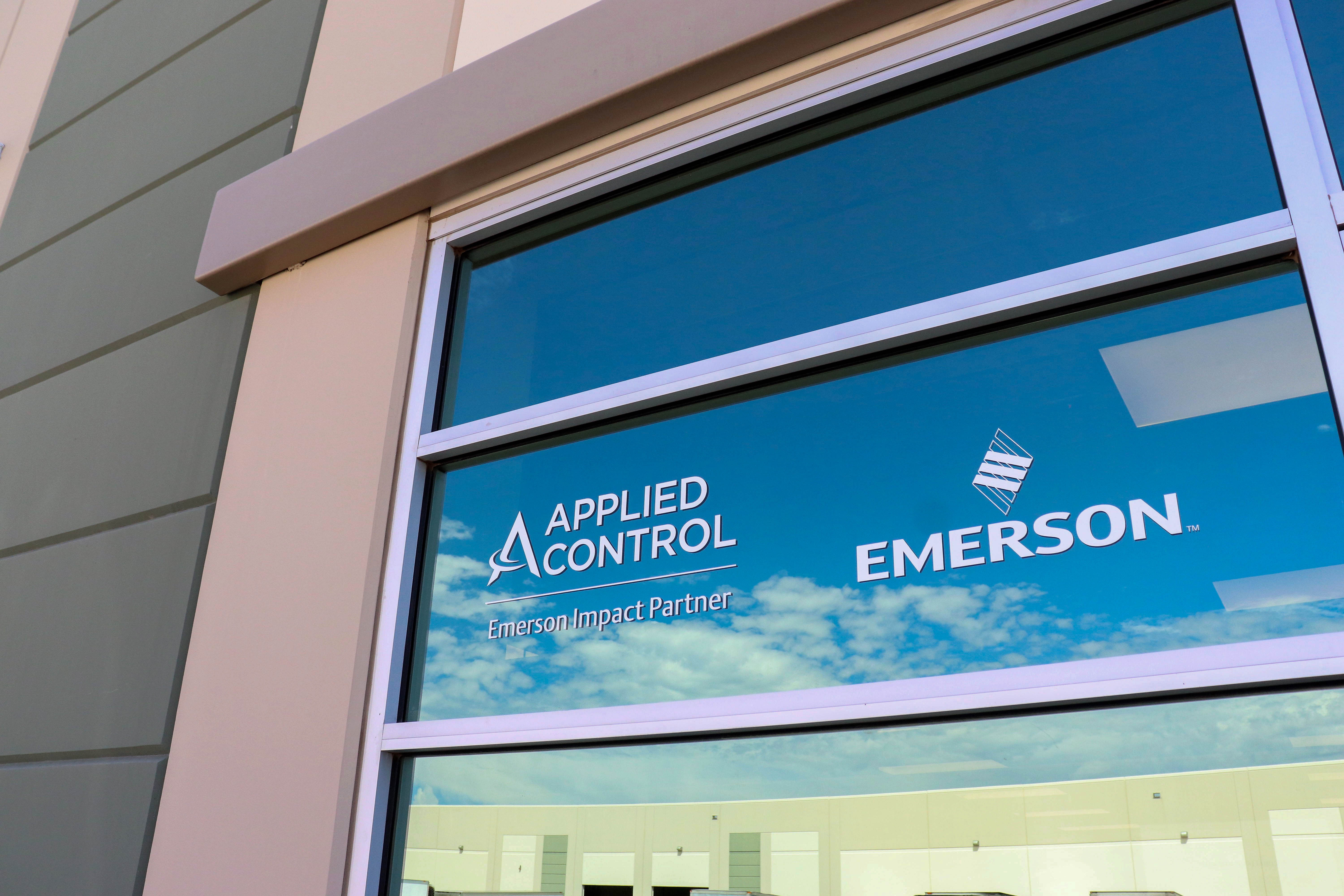 Applied Control & Emerson Northfield Valve Services Entrance